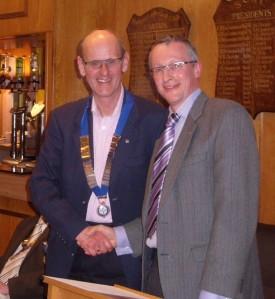 Jim's handover to Peter