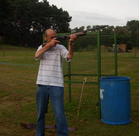 Sharp shooter Peter