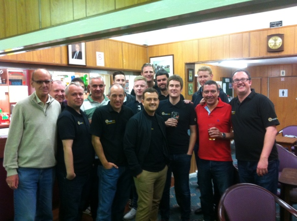 The guys from Stafford 176 (the losers!)